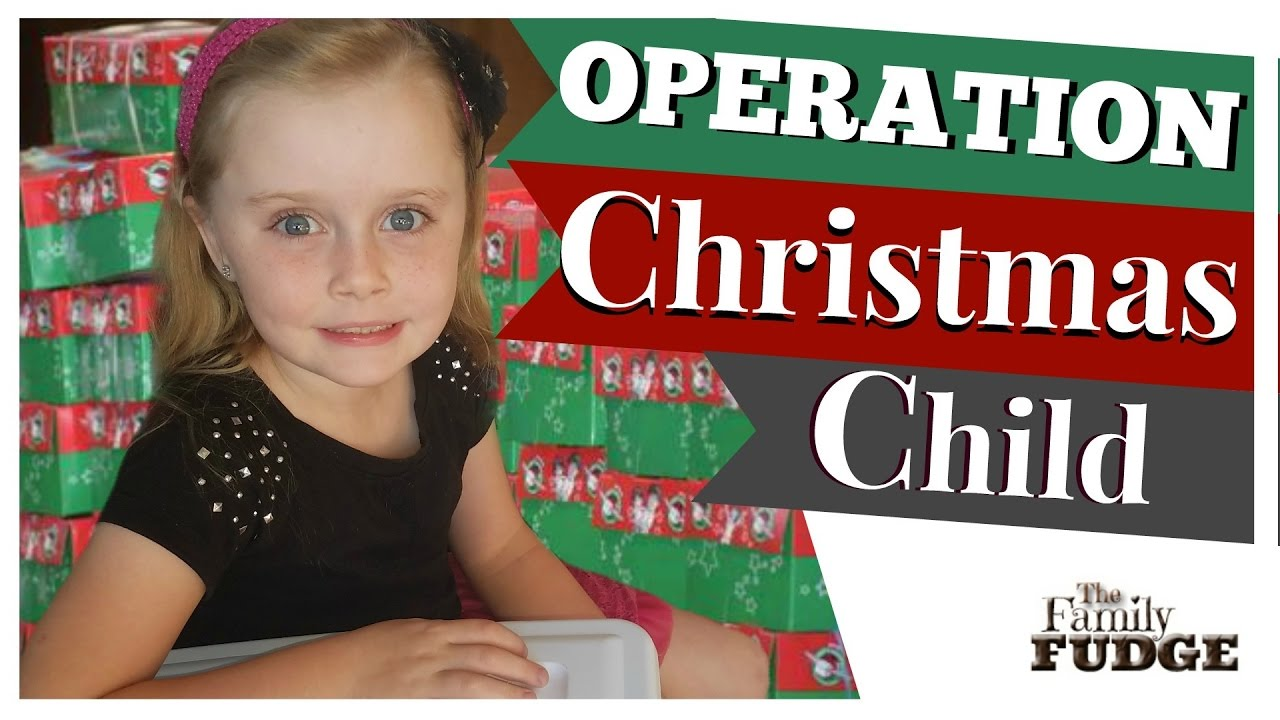OPERATION CHRISTMAS CHILD || Packing a Shoebox Gift 2016 || The ...