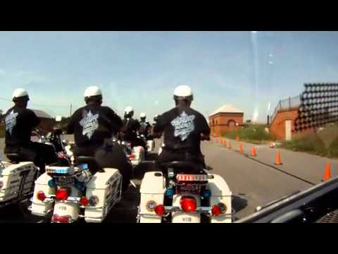 The Philadelphia Highway Patrol Motorcycle Drill Team Practice GoPro OnBoard W/#12