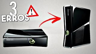 3 ERROS QUE VOCÊ COMETE no XBOX 360