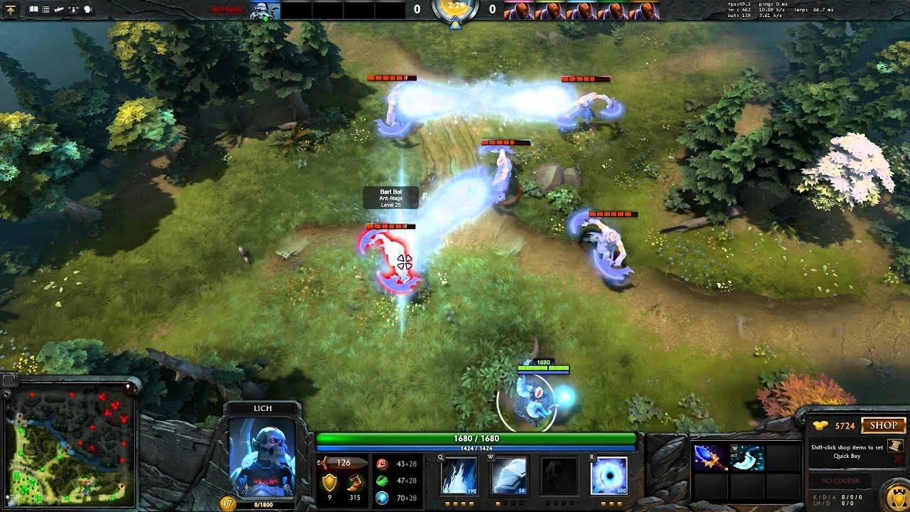 dota 2 6 81 lich aghanim s scepter buff youtube