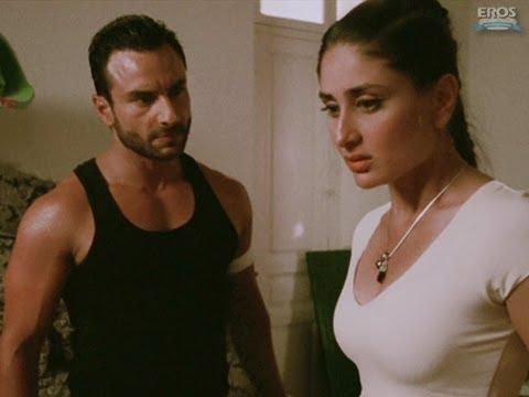 Kareena with Saif in his room   Agent Vinod
