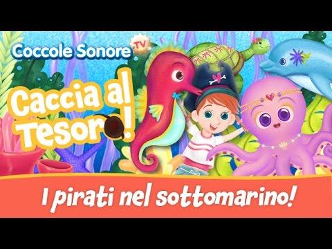 I Pirati del Mar dei Sargassi nel sottomarino - Fiabe e Racconti per bambini di Coccole Sonore