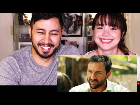 CHEF | Saif Ali Khan | Raja Krishna Menon | Trailer Reaction!