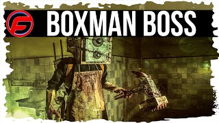 The Evil Within How to defeat BoxMan the keeper Boss Fight Strategy Guide Tips Gameplay Collectables