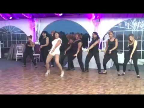 Beyonce Surprise Wedding Reception Dance