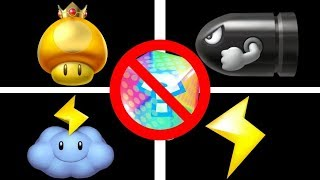 Mario Kart Wii UNUSED Battle Mode Items