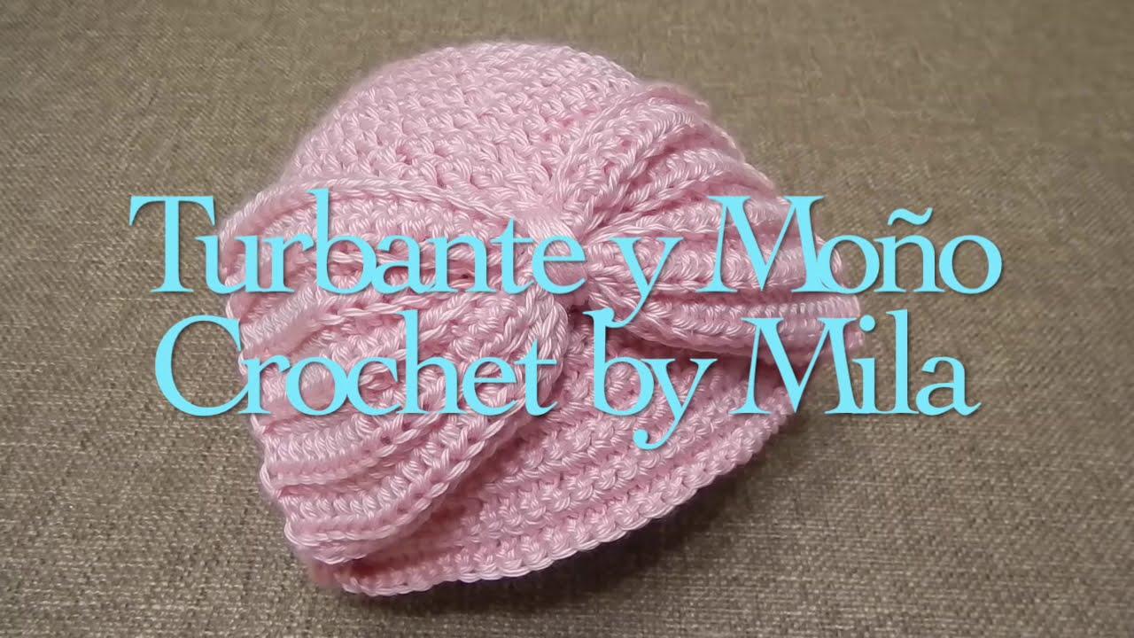 Gorra Fácil Turbante Crochet - YouTube