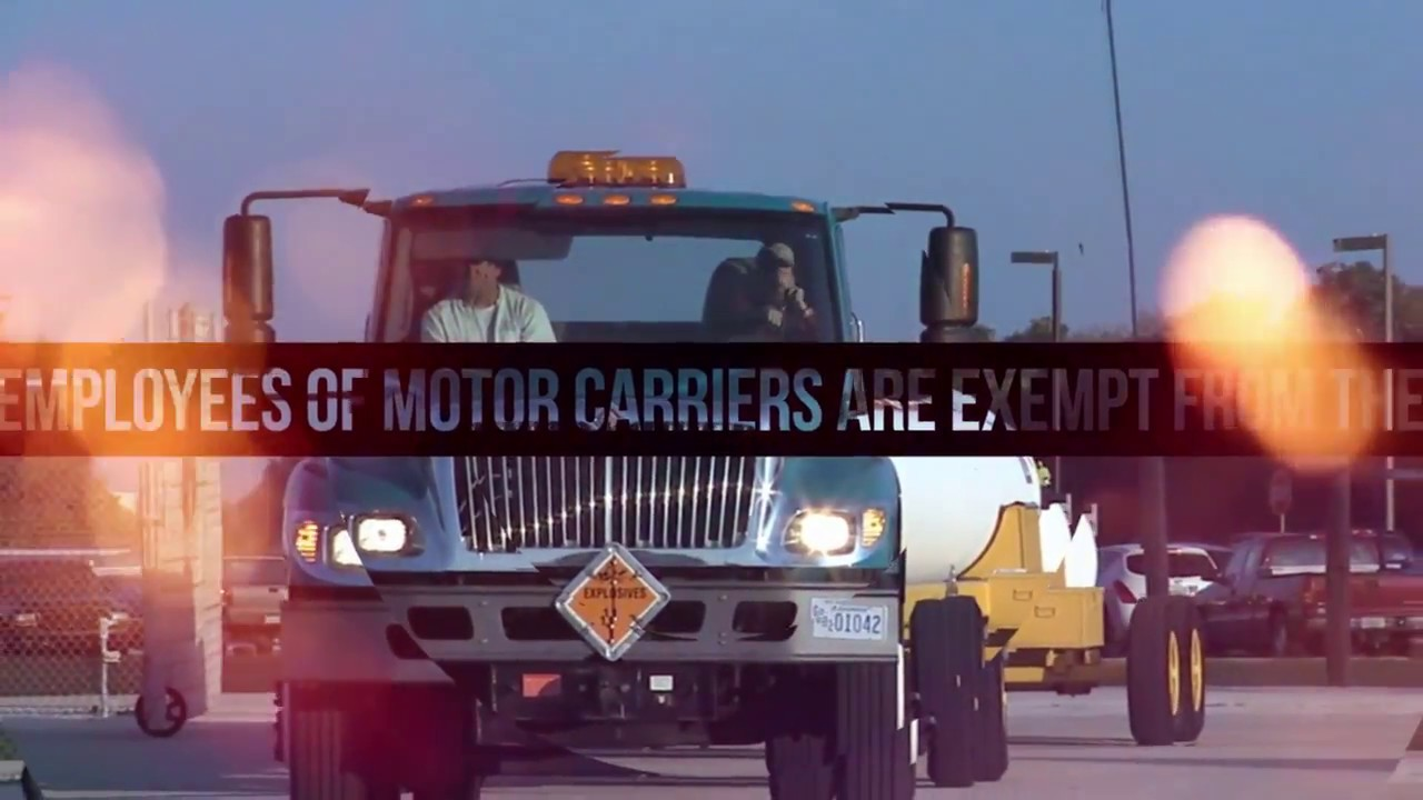 Motor Carrier Exemption under the Fair Labor Standards Act