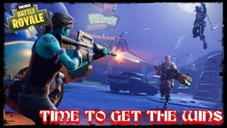 FortNite Battle Royale / Time To Get Wins / PS4