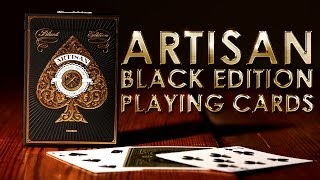 Deck Review - Artisan Black Edition Playing Cards [Theory11]