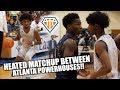 HEATED MATCHUP Between ATL Powerhouses GETS CHIPPY!!   Sell Out Crowd for Meadowcreek vs Wheeler