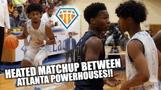 HEATED MATCHUP Between ATL Powerhouses GETS CHIPPY!! | Sell Out Crowd for Meadowcreek vs Wheeler