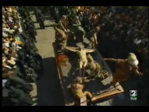 Crucifixión. Semana Santa Zamora TVE 1997