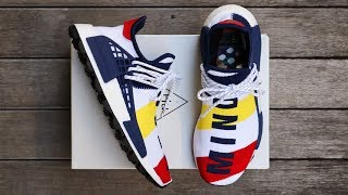 "BBC x ADIDAS PHARRELL HUMAN RACE NMD ""HEART/MIND"" 