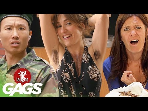Crazy Body Hair, Doomed Marriages, & Disgusting Diapers | JFL Throwback Pranks