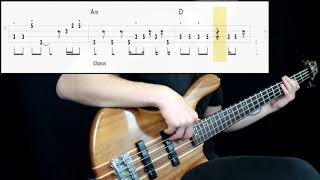 Ziggy Marley - Drive (Bass Cover) (Play Along Tabs In Video)