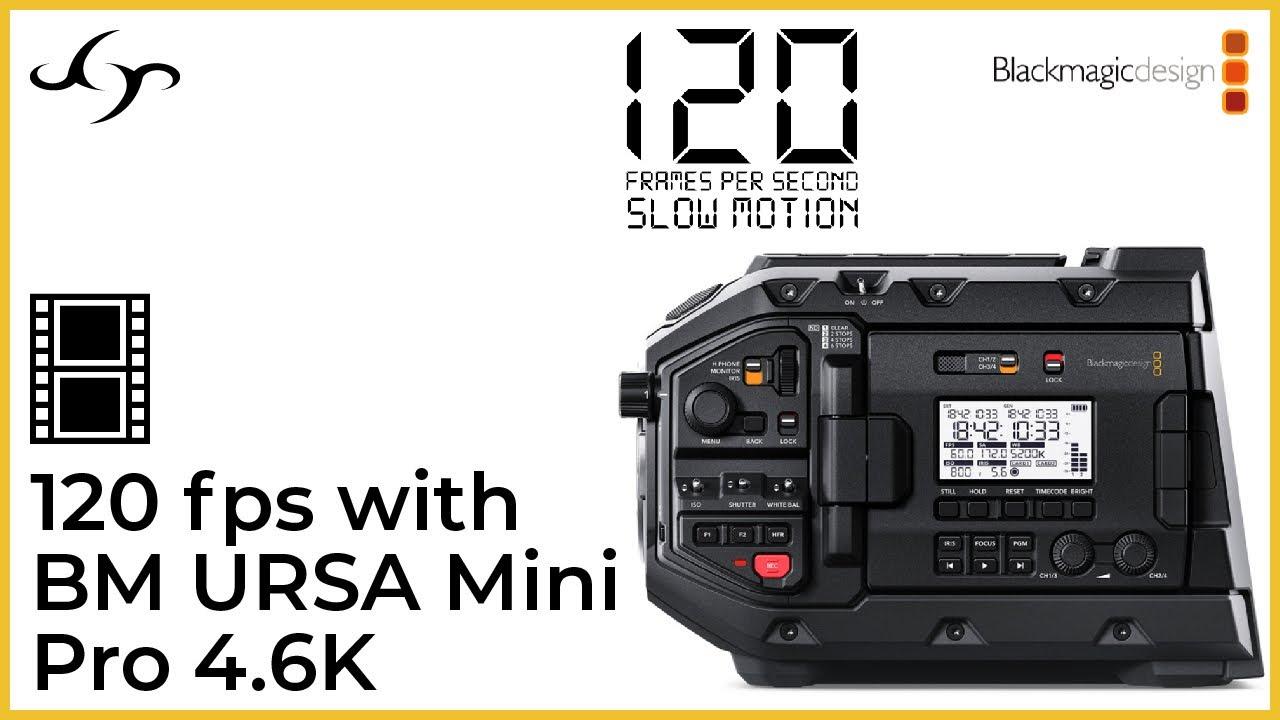 MP 066 | 120 fps slow motion with BM URSA Mini Pro 4.6K - YouTube