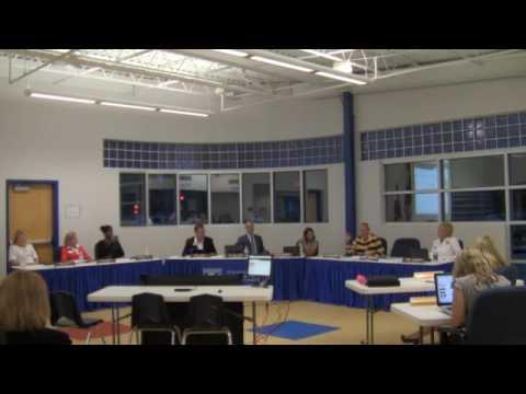 BOE Meeting: September 15, 2016