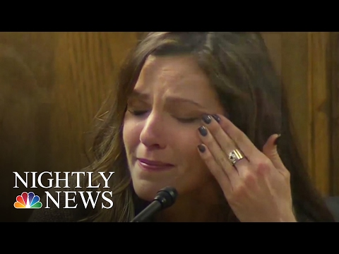 'American Sniper' Chris Kyle's Widow Gives Emotional Testimony  NBC Nightly