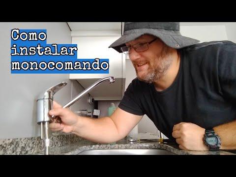 Como Instalar Griferia Monocomando Cocina.