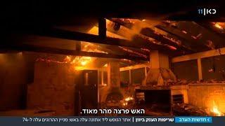 """""""אנשים נשרפו בבתים"""": עשרות נהרגו בגל שריפות באזור אתונה"""