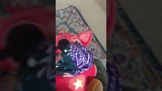Rockstar Foxy plush has mask! …