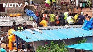 Mumbai Rains: 20 Killed As Heavy Rains Cause Landslide In Mumbai, Several Feared Trapped