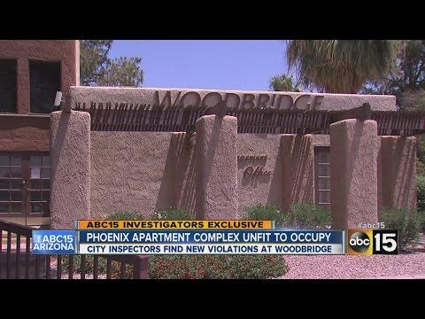 Phoenix apartment complex cited by city inspectors