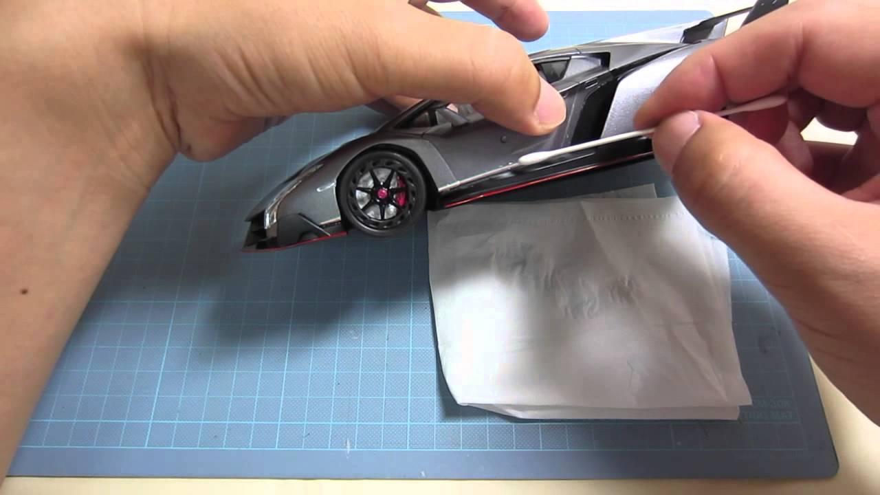 【車のプラモデル製作】フジミ ランボルギーニ ヴェネーノ完成 FUJIMI Lamborghini Veneno finish