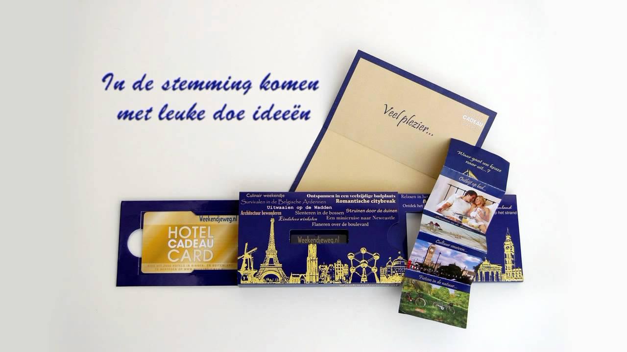 Weekendjewegnl Hotel Cadeaucard Verpakking