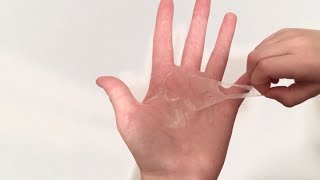 Mister Max Attack - Peeling Glue off of Hands in Slow Motion / Видео
