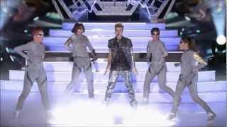 Justin Bieber feat. Big Sean - As Long As You Love Me / Boyfriend (Teen Choice Awards 2012) HD