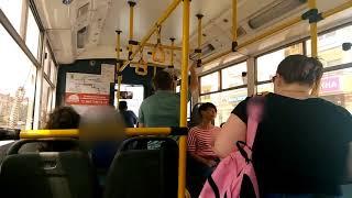 """Как реагируют новороссийцы на кражу сумки у спящего человека в троллейбусе ч.3"""""""