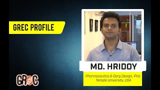 GREC Profile | Ep 38 | Md. Hridoy | Pharmaceutics & Darg Design, Phd, Temple University, USA