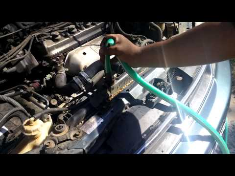 How to Flush Your Radiator Quick: 96 Honda Accord