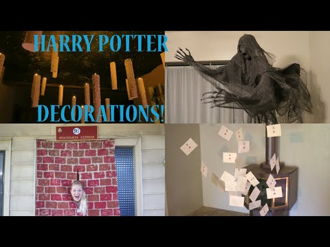 How To Make The Best Harry Potter Decorations Party Ideas Youtube