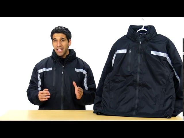 Product Video - RefrigiWear - 9188R - 3-in-1 Insulated Rainwear Jacket⠀