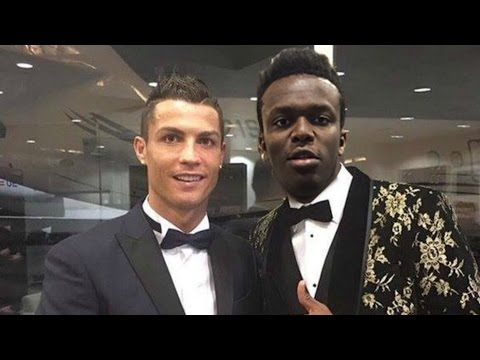 Thumbnail: KSI With Famous Footballers | Playing FIFA/PES | Ft Ronaldo Hazard Courtois Ozil