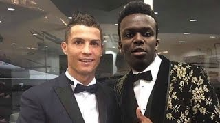 Ksi with famous footballers | playing fifa/pes | ft ronaldo hazard courtois ozil