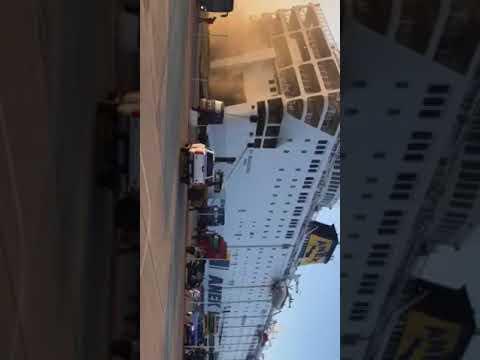 """πυρκαγιά στο πλοίο """"Ελ. Βενιζέλος"""" της ΑΝΕΚ LINES"""