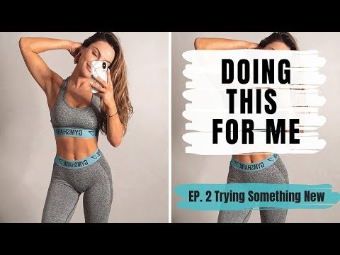 TRYING NEW THINGS | New gym wear, New Furniture and New Workout