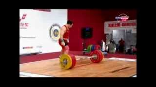 Мужчины 94 кг Толчок ЧМ-2013