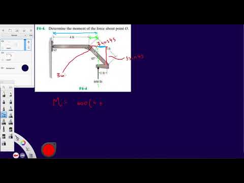 Problem F4-4 Statics Hibbeler 12th (Chapter 4)