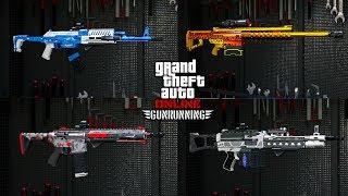 TOUTES LES ARMES AMÉLIORÉES (MK2) + CAMOUFLAGES DÉBLOQUÉS ! GTA 5 ONLINE thumbnail