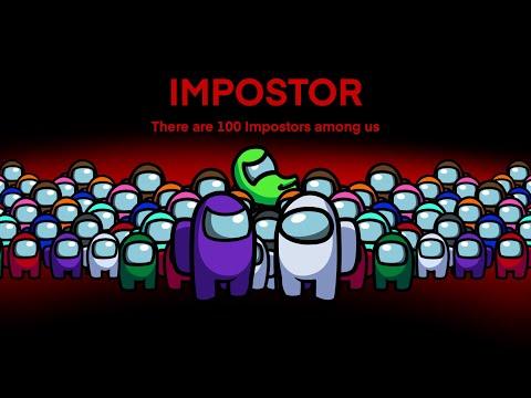 100 Impostor Battle Royale (Battle Royale only) - Among Us Animation - The Impostor Life 2