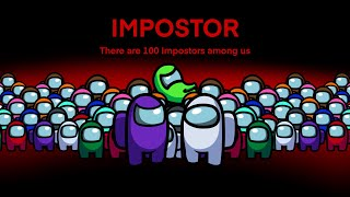 100 Impostor Battle Royale (Battle Royale only) - Among Us Animation - The Impostor Life 2