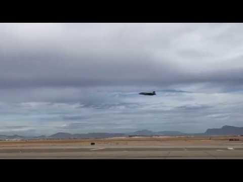 F 35 Departing Phoenix Mesa Gateway Airport