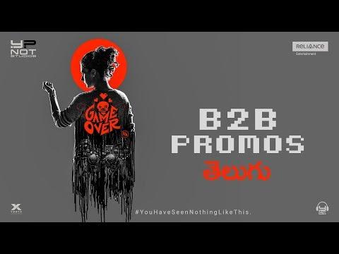 Game Over   Telugu - B2B Promos   Taapsee Pannu   Ashwin Saravanan   Y Not Studios   In Cinemas Now