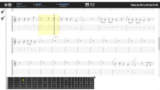 Cầu Vồng Khuyết - Minh Khang (tab guitar Mondera)