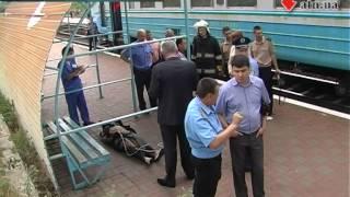 12.06.14 - Зацеперы на крыше поезда - погибла 14-летняя любительница экстрима